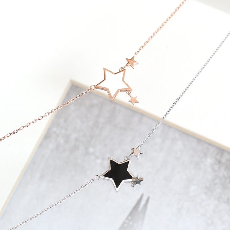 [30%SALE] star sterling silver92.5 bracelet